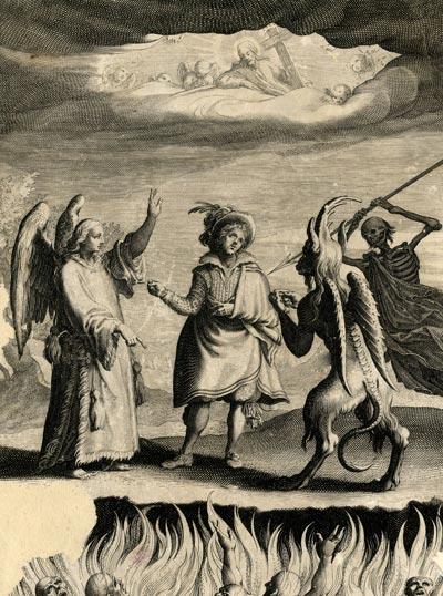 Bestrafung des Onanisten