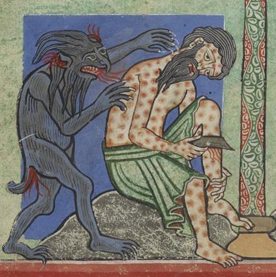 Leprakranker, Illustration