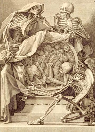 Sammlung von Leichen